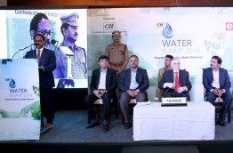 Presiding over the function Water Summit 2018 held in the state capital of Kerala, India on 6th March organized by CII (Confederation of Indian Industry). www.watersummit.in