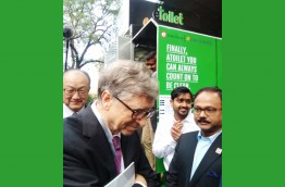 With Mr. Bill Gates during a conference in China - November 2018